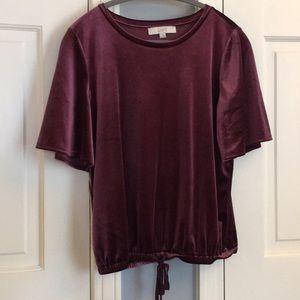 Loft Velvet Shirt